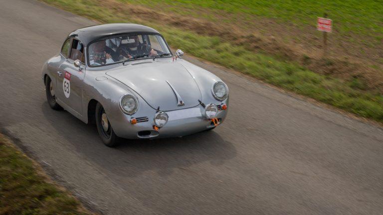 Montée Historique Pluméliau: Porsche 356