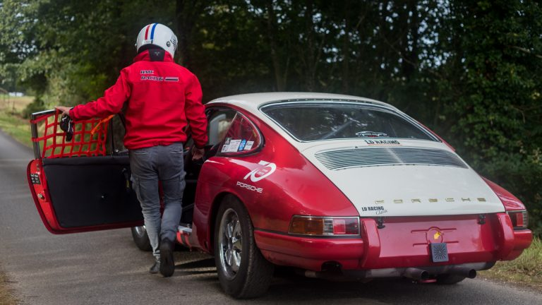 Montée Historique Pluméliau: Porsche 911